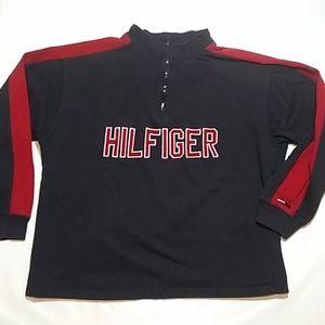 Tommy Hilfiger VTG Spell Out 1/4 Zip Sweatshirt